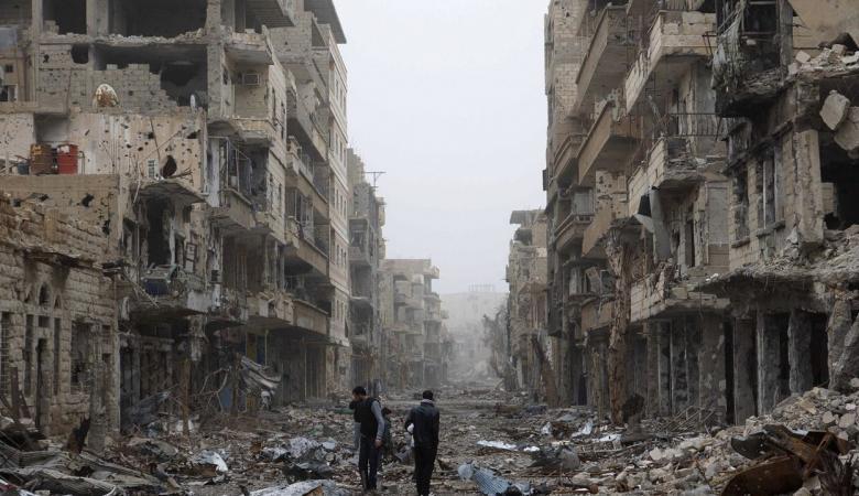 كلفة الدمار في سوريا تقدر بنحو 400 مليار دولار