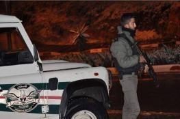 الامن الوقائي  يضبط شحنة ضخمة من الأسمنت المهرب في رام الله