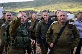 قيادة الجيش الاسرائيلي : انخفاض العمليات ما هو الا هدوء ما قبل العاصفة