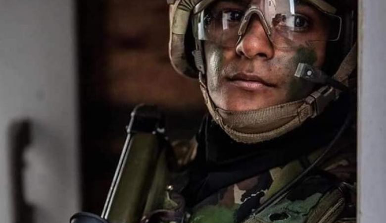 تخريج اول ضابطة فلسطينية من الاكاديمية الملكية البريطانية