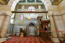 الاوقاف : سنصلي الفجر داخل المسجد الأقصى