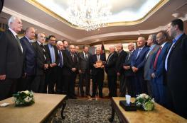 الرئيس يبحث مع أمناء سر فصائل المنظمة أوضاع شعبنا في لبنان