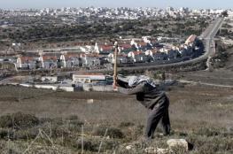 تقرير : الاستيطان يواصل ابتلاع اراضي الضفة الغربية
