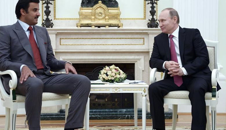 """لقاء مرتقب بين امير قطر والرئيس الروسي """"بوتين """""""