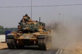 الدبابات التركية في شوارع الدوحة