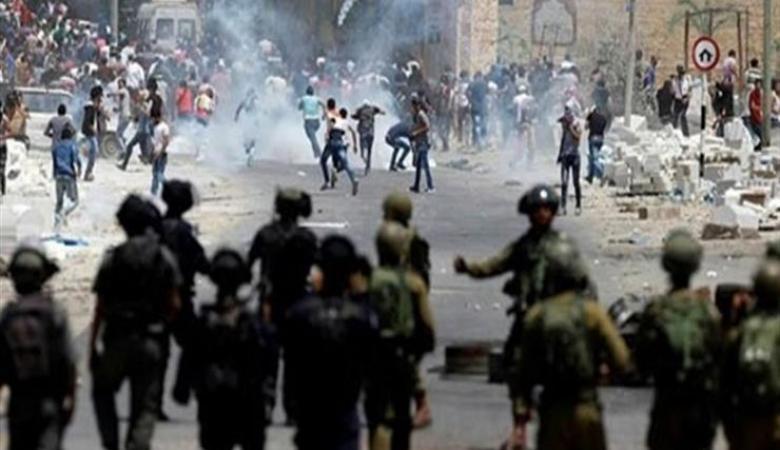 عشرات الإصابات خلال مواجهات مع الاحتلال بالضفة