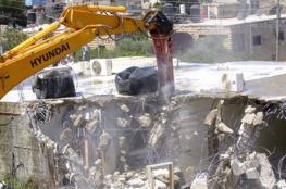 الاحتلال يهدم منزلاً في سلون للمرة الثانية خلال أسبوعين