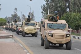 """الجيش المصري يعلن عن مقتل """" 14 """" مسلحاً  شمال سيناء"""