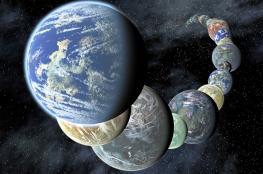 اكتشاف 7 كواكب شبيهة بالارض ويمكن الحياة عليها ...شاهد