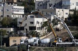 الموافقة على بناء 176 وحدة استيطانية في جبل المكبر بالقدس