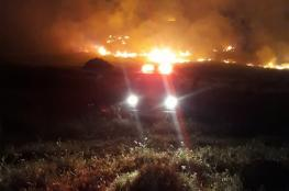 الدفاع المدني يتعامل مع 80 حريقا في الضفة الغربية خلال هذا اليوم