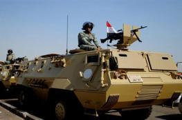 """الجيش المصري يقتل """" 40 """" مسلحاً جنوب مدينة العريش"""