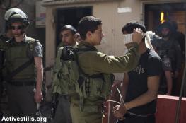 الاحتلال اعتقل 511 مواطنا خلال الشهر الماضي