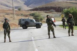 قوات الاحتلال تنشر دورياتها في محيط محافظة جنين