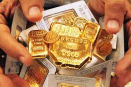 الذهب يهبط الى أقل سعر له منذ بداية العام 2019