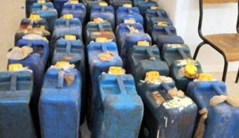 الشرطة: ضبط 4 آلاف لتر من السولار المهرب بالخليل