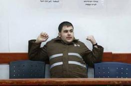 """الاحتلال يقرر عزل الأسير """"مالك حامد """" المنتقم للشهيد """"بارود """""""