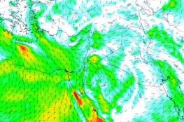 الراصد الجوي : كتلة هوائية باردة ترافقها أمطار واجواء باردة ليلا