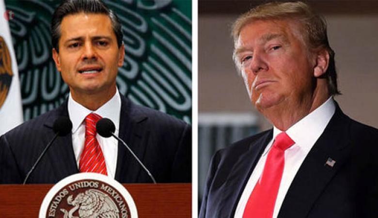 الرئيس المكسيكي لترامب : لن ندفع ثمن جدارك