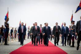 الاردن ومصر  : حل الدولتين ثوابت قومية لا تنازل عنها