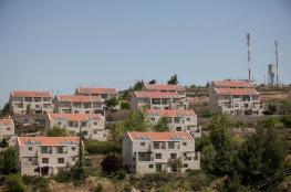 الاحتلال يعتزم بناء 1292 وحدة استيطانية بالضفة الغربية