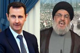"""نصر الله :  ذهبت إلى دمشق وطلبت من الأسد نقل عناصر """"داعش"""""""