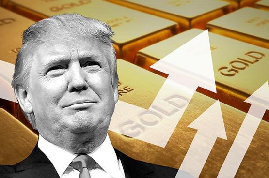 خطاب ترامب يشعل سعر الذهب ليصل الى اعلى سعر له منذ شهرين