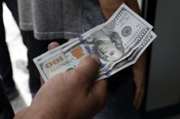 هبوط جديد على سعر صرف الدولار مقابل الشيقل
