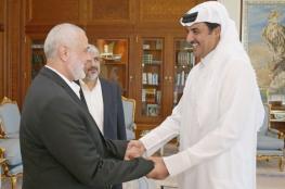 الأمير تميم لهنية : سنواصل دعم الشعب الفلسطيني