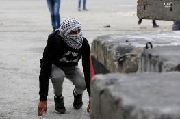 اصابات خلال مواجهات مع الاحتلال شمال رام الله