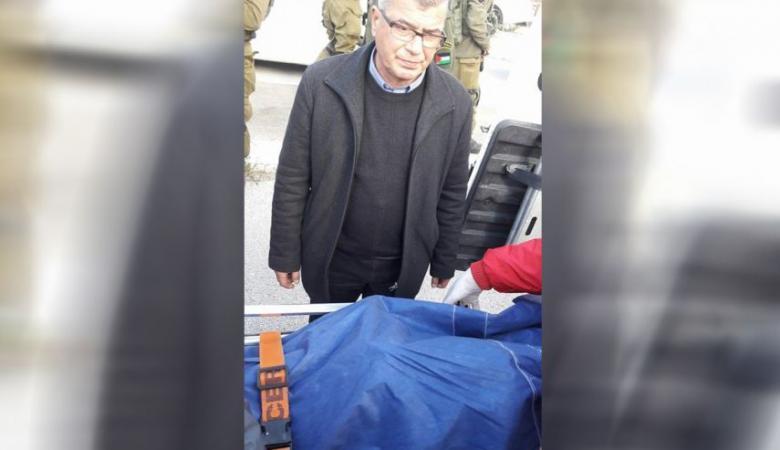 الاحتلال يسلم جثمان الشهيد محمد الجلاد قرب طولكرم