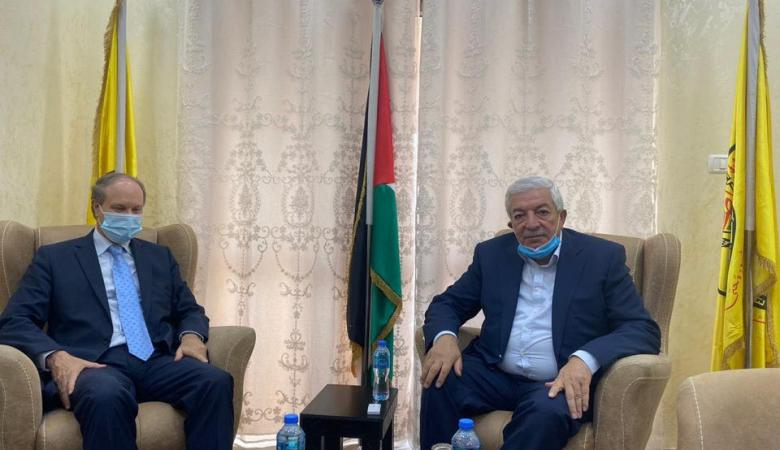 العالول يطالب فرنسا الاعتراف بدولة فلسطين