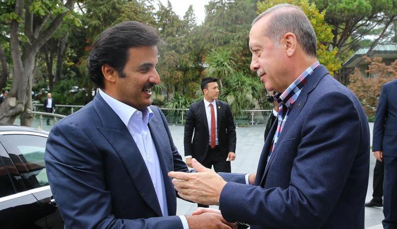 أمير قطر يلتقي أردوغان اليوم بأنقرة في أول زيارة خارجية منذ بداية الازمة
