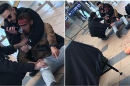 """حراس امن اسرائيليون يحطمون وجه جندي """"بدوي """"  في محطة بئر السبع"""