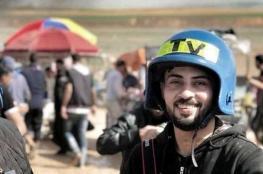 استشهاد الصحفي أحمد ابو حسين من غزة برصاص الاحتلال