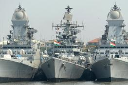 الهند ترسل سفن حربية الى الخليج ..ماذا يحصل ؟