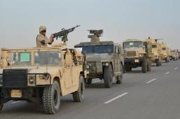 """الجيش المصري: مقتل 4 مسلحين وتوقيف 112 في إطار عملية """"سيناء 2018"""""""