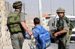 الاحتلال يعتقل فتى أثناء عودته من المدرسة في بلدة العيسوية