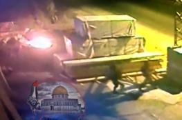 الاحتلال يخفض التهمة الموجهة للجنود الذين احرقوا مصنع اخشاب في نابلس