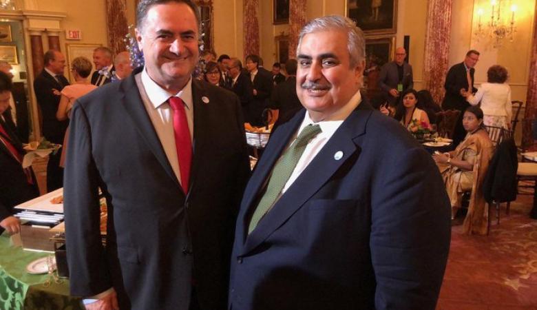 """وزير خارجية البحرين يوجه رسالة """"لشعب اسرائيل """""""