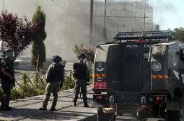 """الاحتلال يقمع مسيرة تضامنية مع الأسيرة """"اللبدي"""""""