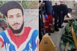 شاهد ..العثور على جثة شاب مشنوقا داخل محل تجاري في العيزرية