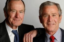 جورج بوش  الأب ينقل الى المستشفى