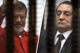 لأول مرة:مرسي ومبارك يتواجهان في المحكمة