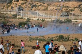 74 اصابة في قمع الاحتلال لمسيرات العودة في غزة