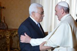 مباحثات بين الرئيس والبابا حول زيارة ترامب الى بيت لحم