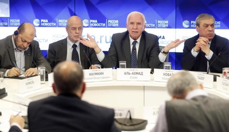 روسيا تستضيف وفداً بارزا من حركة حماس