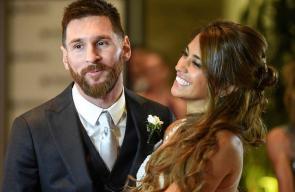 جفل زواج ميسي بحضور نجوم الكرة العالمية