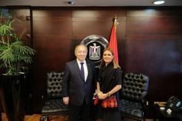 وزير الاقتصاد يبحث نقل الخبرات المصرية الى الجانب الفلسطيني
