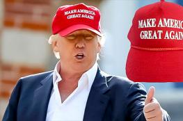 القبعات المؤيدة لترامب صنعت في الصين